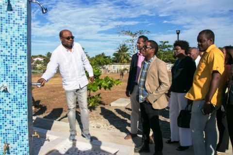 st mary gets 38m upgrade to marking stone beach ministry of tourism