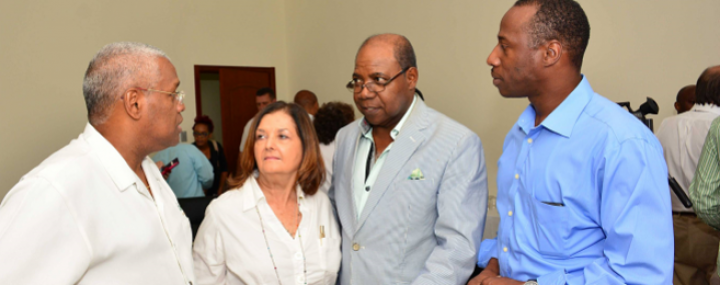 Minister of Tourism Hon. Edmund Bartlett meets with representatives of the attractions sub-sector.